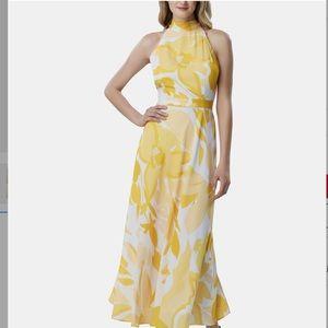 TAHARI ASL floral Maxi dress